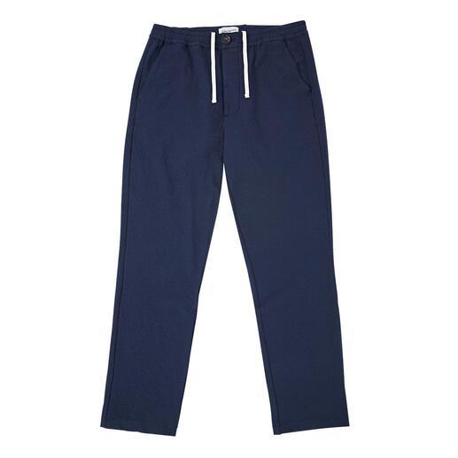 Veste ou Pantalon en seersucker Oliver Spencer Tissu italien, confection minutieuse sans doublure. Par Oliver Spencer/Londres.