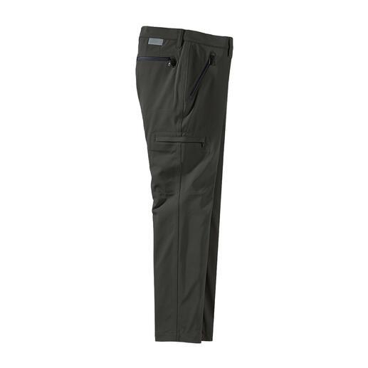 Pantalon cargo Slimline Alberto Cintré. Confortable. Résistant aux intempéries. Du spécialiste allemand du pantalon Alberto, depuis 1922.