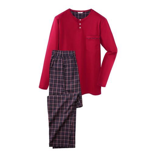 Pyjama gentleman Le pyjama pour gentleman : confortable, aéré et raffiné.