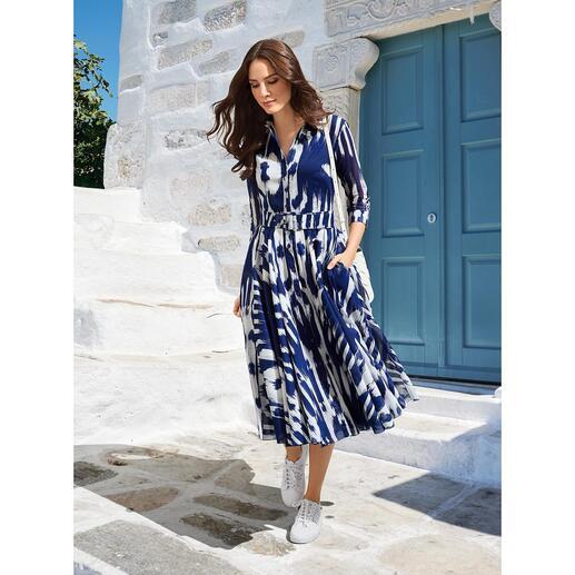 Robe Nordic Ikat Samantha Sung Le style rétro élégant des années 40 et 50 – par le maître du sujet : Samantha Sung.