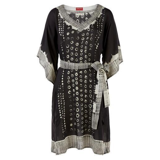 Robe tunique RYY Australia La robe tunique noire et blanche de la célèbre marque hippie et ethnique RYY Australia.