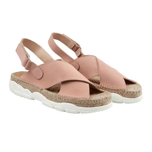 Sandales de trekking [espadrij] l'originale La tendance rencontre la tradition : la sandale de trekking tendance de [espadrij] l'originale.