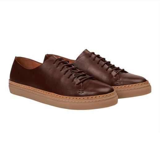 Baskets en cuir La sneaker basique classique : noble. Épurée. Durable.