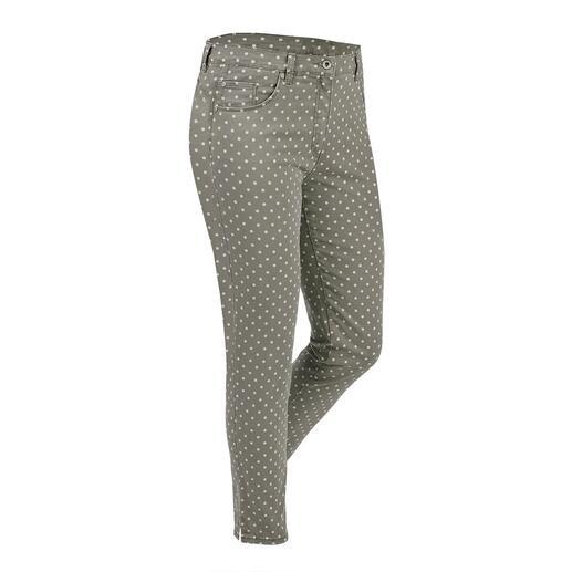 Pantalon ceinture magique à pois Votre pantalon grand confort : le pantalon avec ceinture magique de RAPHAELA-BY-BRAX.