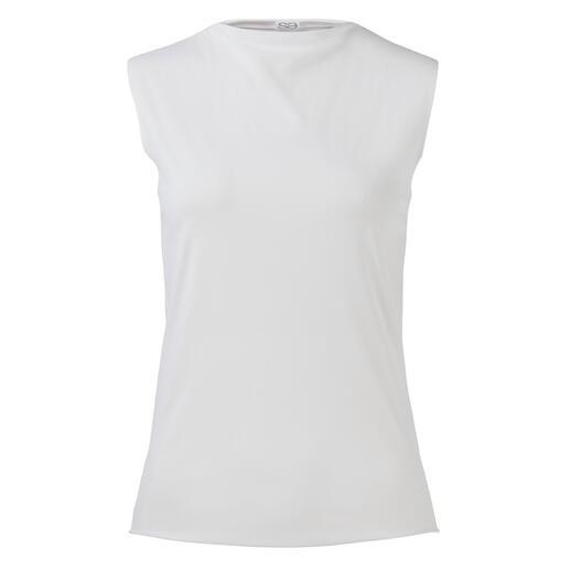 Pantalon ou Haut sport Sassenbach Blanc pur. Coupe épurée. Jersey high-tech confortable et lavable.