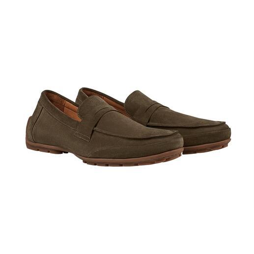 Mocassins style Strobel Bien plus confortables et plus résistants grâce à leur finition type Strobel.