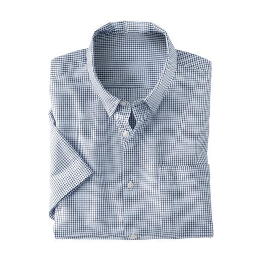 Chemise outdoor à carreaux Coupe classique, couleurs discrètes, petits carreaux.