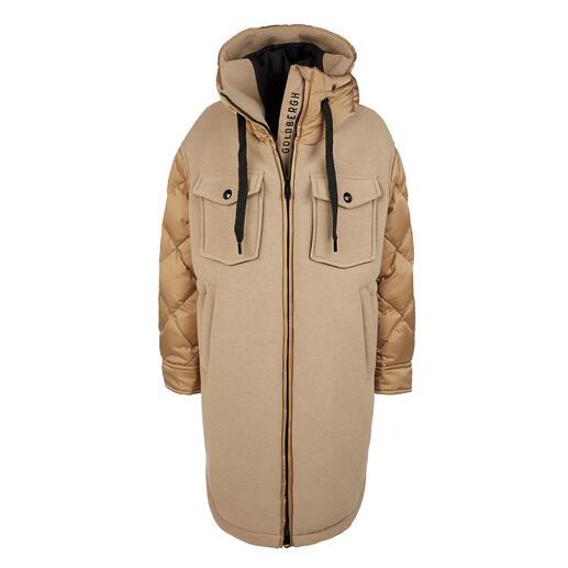 Parka couture-sport Goldbergh Streetwear sportif ou sportswear stylé ? Les deux à la fois !