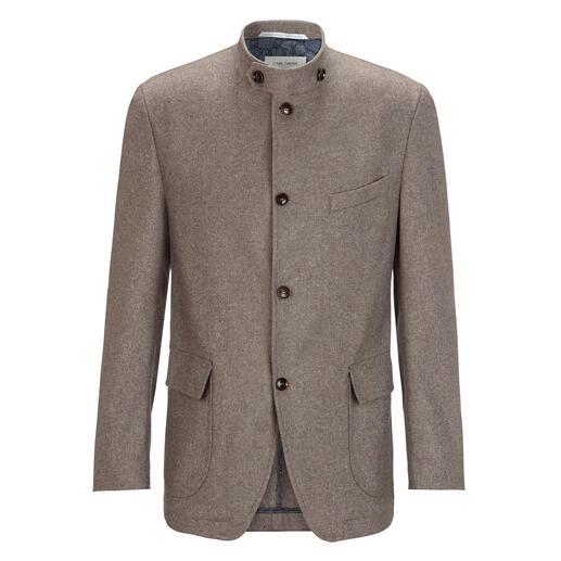 Veste en laine et cachemire Carl Gross Mélange luxueux de cachemire et de laine. Style costume folklorique actuel. Prix abordable.