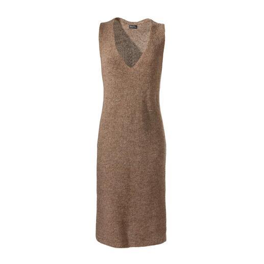 Robe sans manches en alpaga Un vrai multi-talent – pour toute l'année : la robe sans manches tricotée en alpaga.