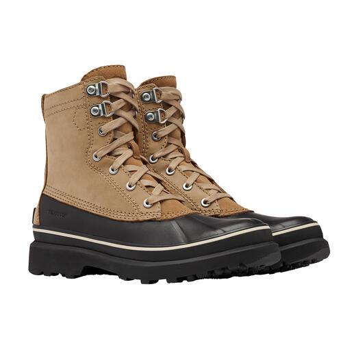 Duck Boot Sorel Classique intemporel, mise à jour contemporaine : Sorel rend la Duck Boot chaude et imperméable.