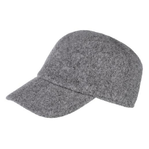 Casquette en laine bouillie Difficile à trouver : votre casquette de baseball pour la saison froide est en feutre réchauffant.