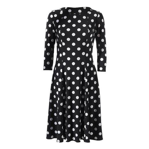 Robe Polka Dots Swing La robe à pois classique populaire et féminine : dans une coupe contemporaine.