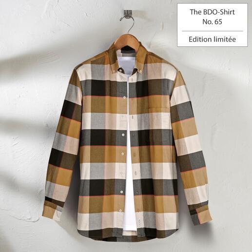 The BDO Shirt, Limited Edition No.65 Redécouvrez une bonne vieille amie. Et oubliez qu'une chemise doit être repassée.