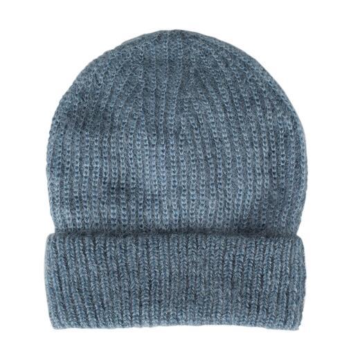 Bonnet ou Écharpe en mohair Seldom La nature à l'état pur : le mohair, le coton de Gizeh et la soie rendent ces tricots si nobles.