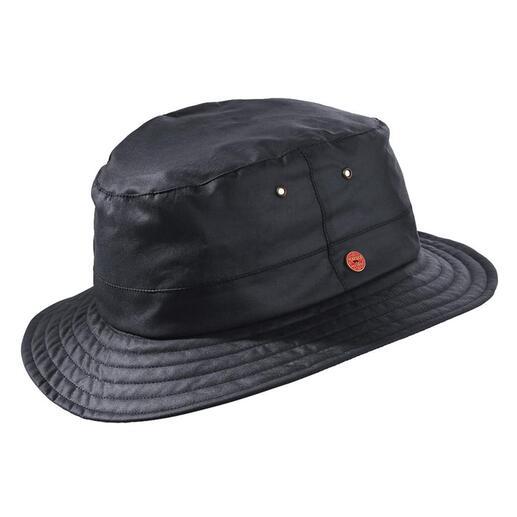 Chapeau intempérie  en coton Mayser La micro-cire spéciale le rend déperlant et coupe-vent, tout en étant respirant.