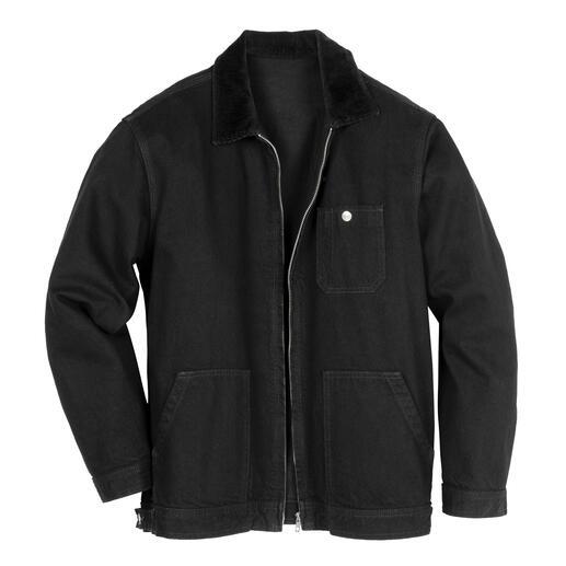 Veste en jean selvedge Edwin Deviendra immédiatement votre favorite : la veste en jean robuste avec véritable bord selvedge.