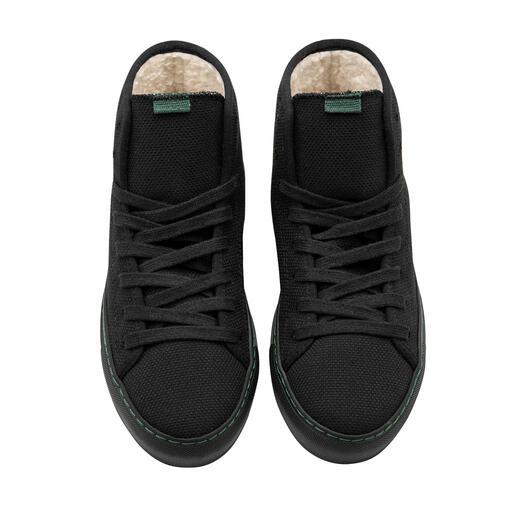 Sneaker hivernale en toile Fabriqué de manière durable à partir de fibres recyclées. Et à nouveau recyclable. Pour homme et femme.