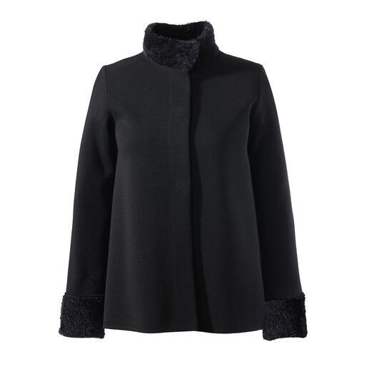 Veste, Pull ou Jupe tricotée Junghans1954 Aussi élégant qu'une petite robe noire. Aussi confortable qu'un ensemble détente.