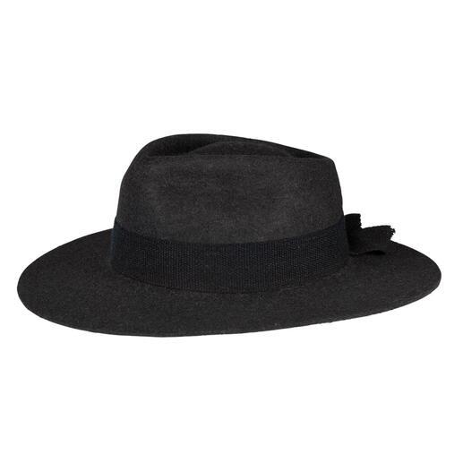 Chapeau en feutre et alpaga Poils d'alpaga feutrés à la main : beaucoup plus léger, doux et chaud que les chapeaux de laine habituels.