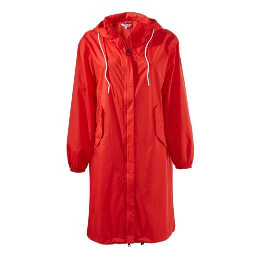 Parka de poche Aigle Chic et plus habillée que les vestes de pluie pliables habituelles.