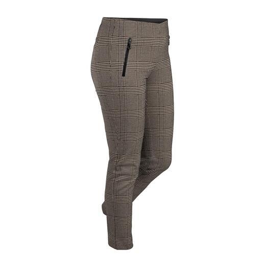 Pantalon à carreaux Stark Aussi élégant qu'un pantalon d'affaires. Aussi confortable qu'un legging. Le pantalon à enfiler en jersey.