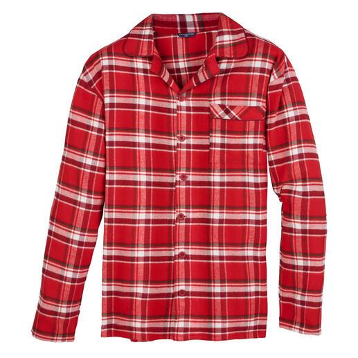 Pyjama en flanelle Cyberjammies La chaleur peut être aussi douce : le pyjama en flanelle brossé 5 fois et exceptionnellement doux.