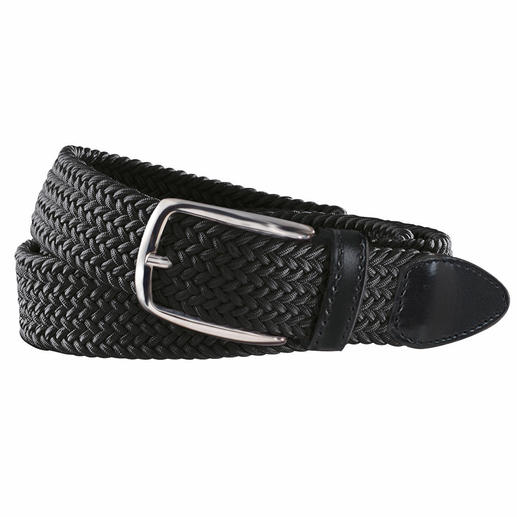 La ceinture extensible Cette ceinture est incroyable : confortable, réglable en continu … et élastique!