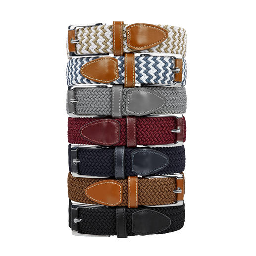 La ceinture extensible Belts, femme Ceinture géniale : confortable, réglable en continu... et élastique ! Pour femme.