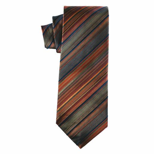 Cravate en soie « Été indien » De bon goût dans les couleurs de l'été indien.