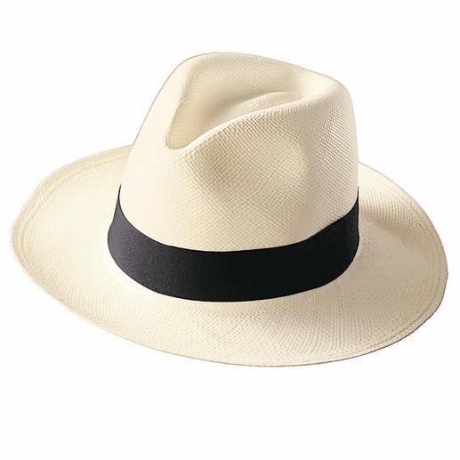 Chapeau Panama Le véritable panama. Tressé à la main en Équateur.