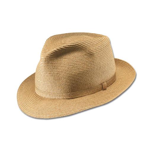 Un chapeau que vous pourrez chiffonner – il gardera toujours parfaitement sa forme. Un chapeau que vous pourrez chiffonner – il gardera toujours parfaitement sa forme.