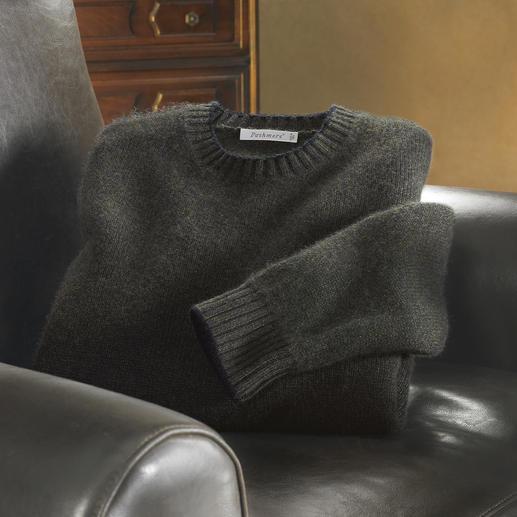 Pull en laine pashmina Impossible de trouver plus délicat et plus doux. Pashmina filé et tricoté en Italie.