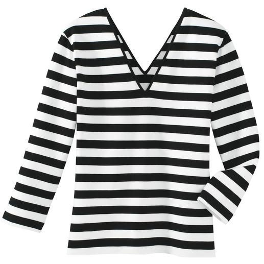 Le shirt magique Résolument noir et blanc.