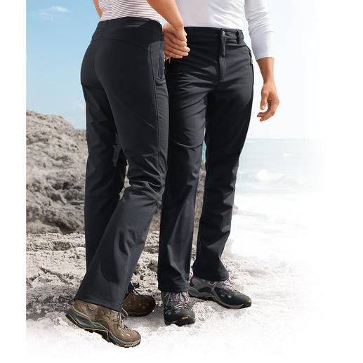 Pantalon softshell, Homme Filiforme, léger et bien chaud grâce à la qualité du softshell. Un modèle au plus bel effet !