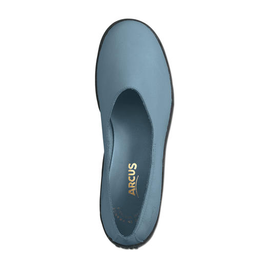 Ballerines de Arcus Ballerines sportives. Aussi confortables que des chaussons. Avec semelle en latex véritable.