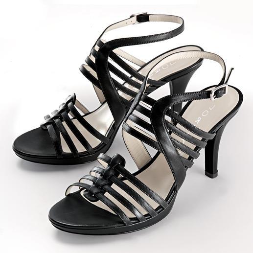 Sandalette à lanières de Lorbac Une sandalette élégante. Mais incroyablement confortable.