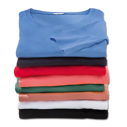 Les T-shirts Wolff Réalisé dans un coton mercerisé des plus fins.
