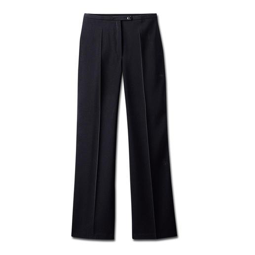 Pantalon de voyage Infroissable, aucun repassage nécessaire. Tenue correcte aussi bien au bureau qu'en soirée.