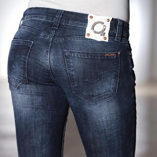Jean S.O.S. T400® Infroissable. Sans vilains plis. Et toujours soigné. Grâce à la fibre ultra-élastique T400®.