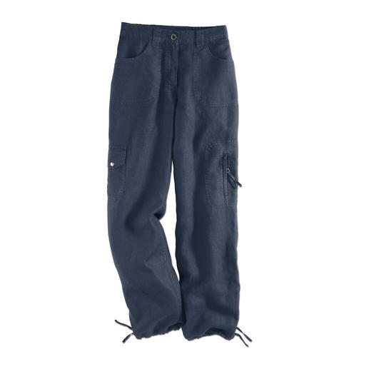 Pantalon confort en lin Tencel® Votre pantalon de loisir préféré pour l'été. Léger comme une brise, chic et incroyablement confortable.