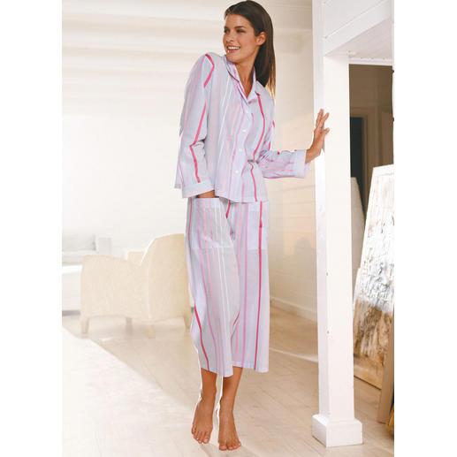 Pyjama aéré à rayures Novila Le pyjama pour faire bonne impression dès le matin.