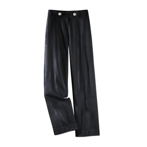 Pantalon de voyage estival Facile à combiner, peu froissable, léger et aérien. Lavé en un tour de main en machine.