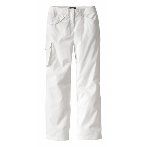 """Pantalon cargo """"silhouette"""" Une silhouette mince malgré les poches cargo pratiques. Le secret du pantalon cargo asymétrique."""