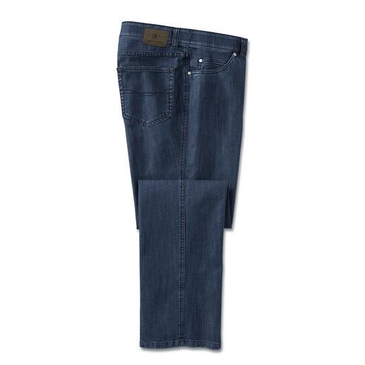 Jean T400® Pas de poche aux genoux. Beaucoup moins de plis quand on s'assoit. Sèche en une nuit.