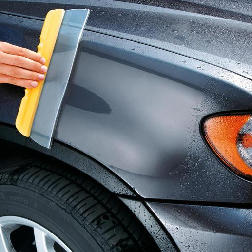Le Water Blade® En un clin d'œil une propreté impeccable, sans traces. Pour la maison, la voiture ou le bateau.