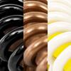 Panachage, Noir/Marron/Crème (2 de chaque couleur)